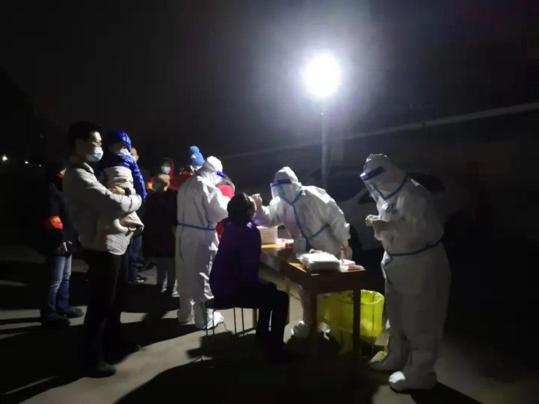 踏雪迎风、逆行出征——河北医科大学口腔医院第四批医护人员投入新一轮核酸采集